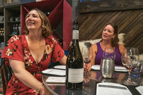 Two sisters go wine tasting in Napa, CA